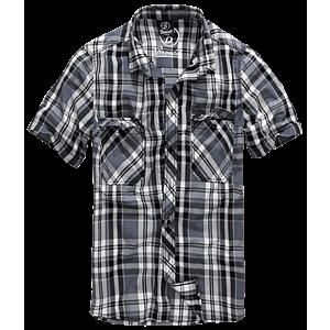 Brandit Roadstar rövid ujjú ing, fekete-antracit kép