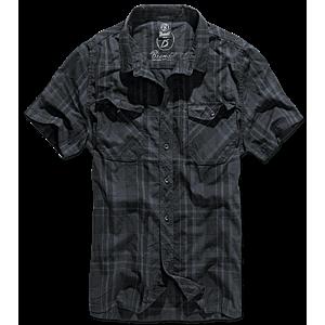 Brandit Roadstar rövid ujjú ing, fekete-kék kép