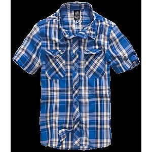 Brandit Roadstar rövid ujjú ing, kék kép