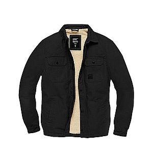 Vintage Industries Dean Sherpa átmeneti dzseki, fekete kép